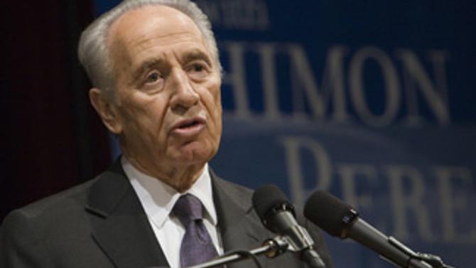 İsrail Cumhurbaşkanı Peres, Bakü'de