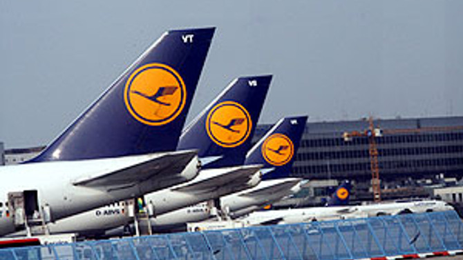 Lufthansa da zarar açıkladı