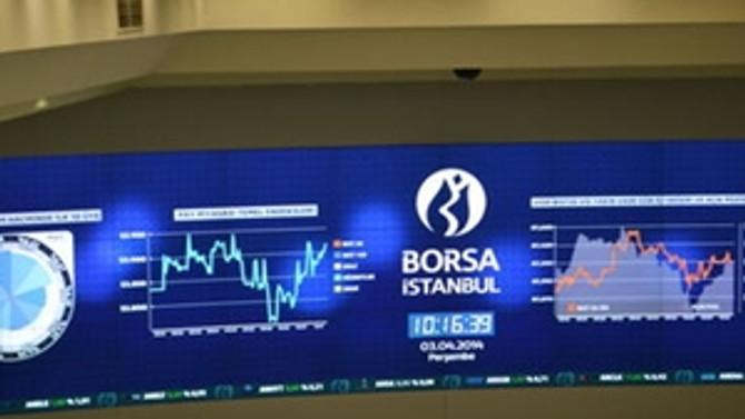 Borsa, günün ilk yarısında yükseldi