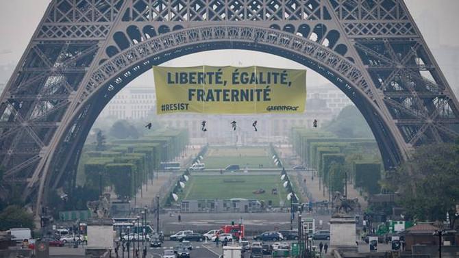 Greenpeace'den Fransa'ya nükleer uyarısı
