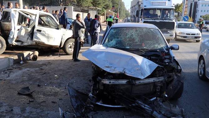Çankırı'da trafik kazası: 8 yaralı
