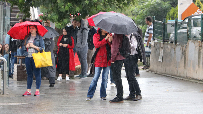 İstanbul'a yağış geri geliyor