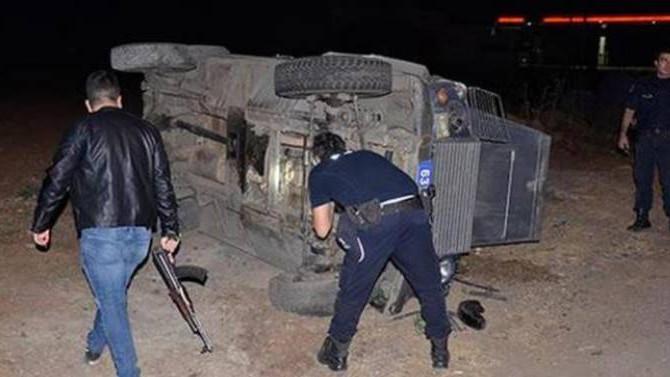 Şanlıurfa'da zırhlı polis aracı devrildi: 2 yaralı