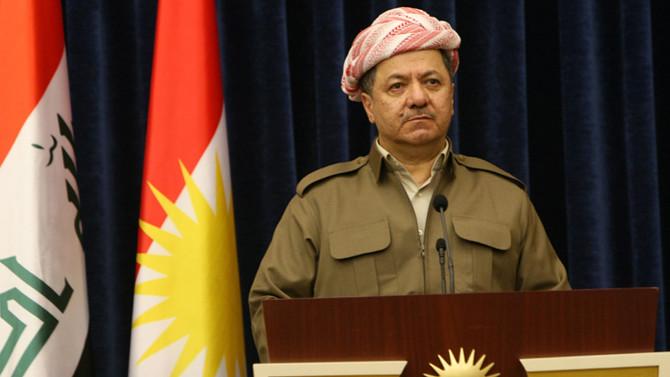 Barzani, Irak Meclis Başkanı ile görüştü