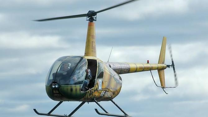 Letonya'da helikopter düştü: 1 ölü, 3 yaralı