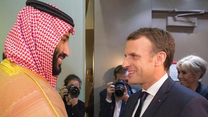 Fransa liderinden Riyad'a sürpriz ziyaret