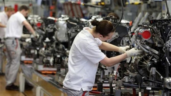 İngiltere sanayi üretiminde yılın en hızlı artışı