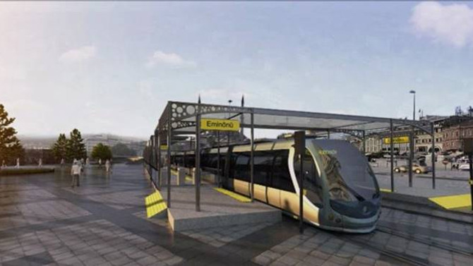 Uysal: Eminönü-Eyüpsultan-Alibeyköy hattı 2018'de bitecek