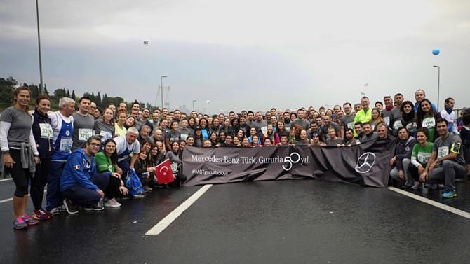 Mercedes-Benz Türk, İstanbul Maratonu'nda rekor kırdı