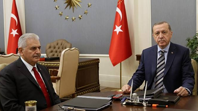 Erdoğan ve Yıldırım Kısıklı'da bir araya geldi