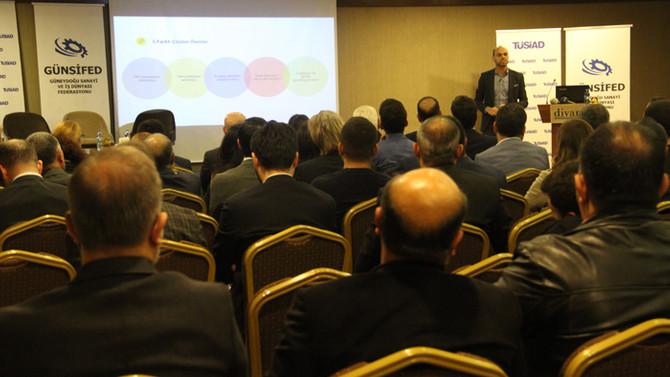 TÜSİAD Kurumiçi Girişimcilik Buluşması Gaziantep'te gerçekleşti