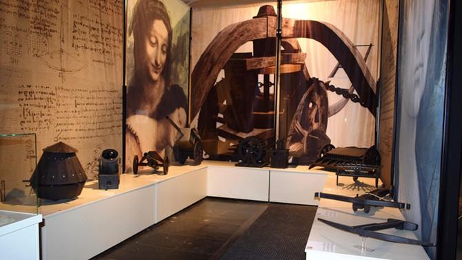 Leonardo da Vinci İstanbul'da!