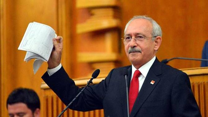 CHP, belgeler için Meclis araştırması istiyor