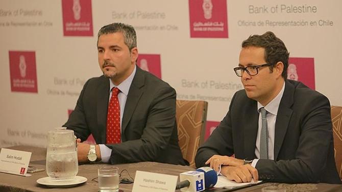 Filistin Bankası, Şili'de temsilcilik açtı