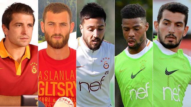 Galatasaray'da formayı unuttular