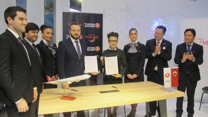 THY ile Tayland arasında 'İyi niyet anlaşması' imzalandı