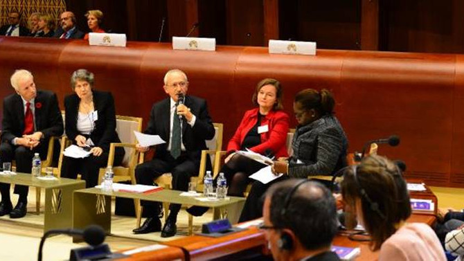 Kemal Kılıçdaroğlu Avrupa Komisyonu'nda konuştu
