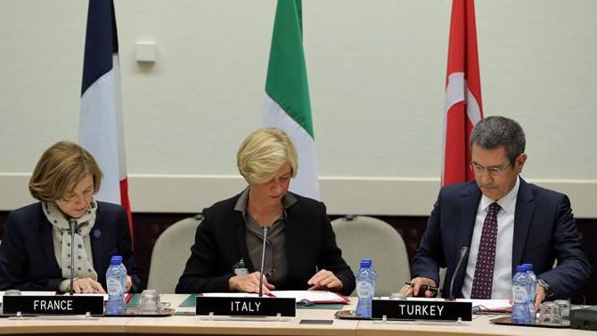 Türkiye savunmada İtalya ve Fransa'yla iş birliğine gitti