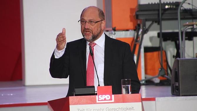 Schulz, 'koalisyon' iddialarına tepki gösterdi