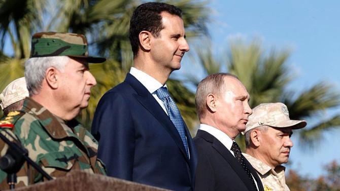Putin'den Rus ordusuna Suriye'den çekilme talimatı