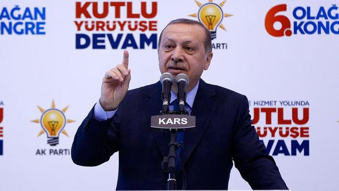 Erdoğan: Siyasi hayatımın en seviyesiz saldırıları