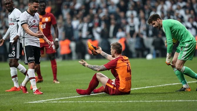 Beşiktaş, Galatasaray'ı 3 golle devirdi