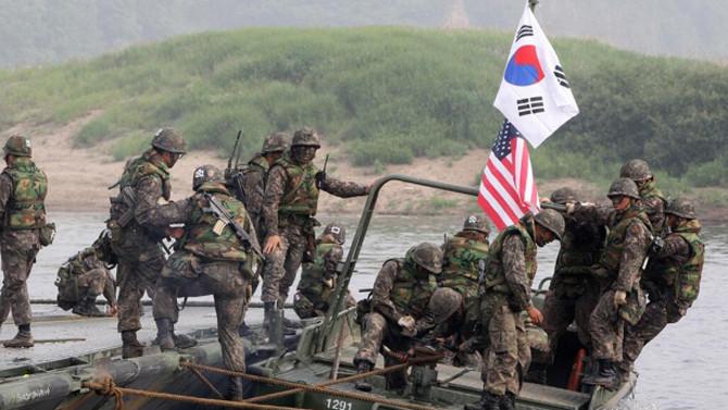 ABD ve Güney Kore'den Pasifik'te dev tatbikat