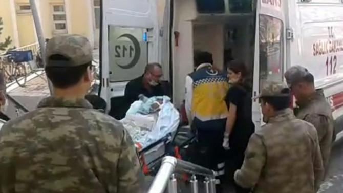 45 asker metan gazından zehirlendi