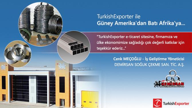 TurkishExporter ile Güney Amerika'dan Batı Afrika'ya...