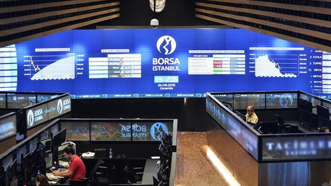 Borsa, döviz kurlarındaki düşüşten destek buldu