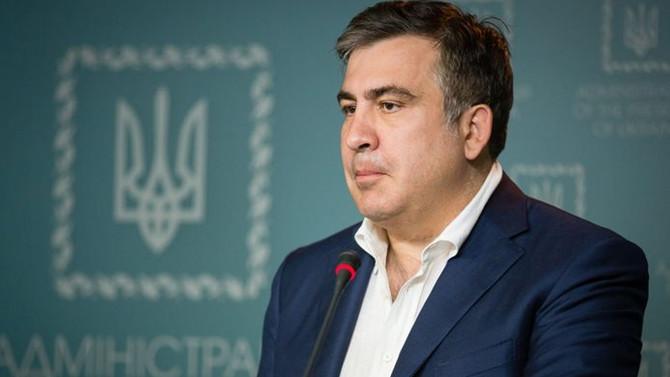 Saakaşvili hakkında arama kararı çıkarıldı
