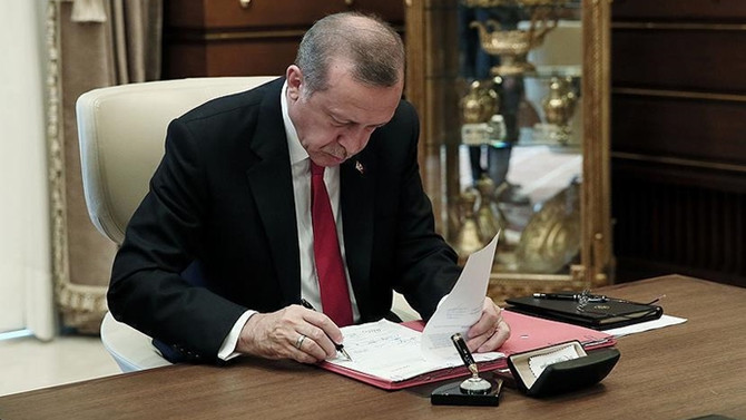 Cumhurbaşkanı Erdoğan, anayasa değişikliğini onayladı
