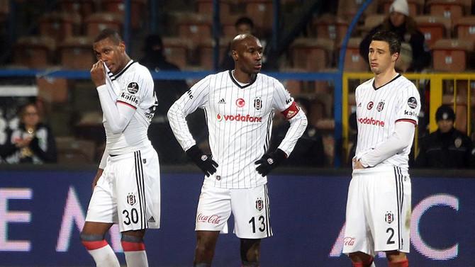 Beşiktaş'ın deplasman kayıpları artıyor