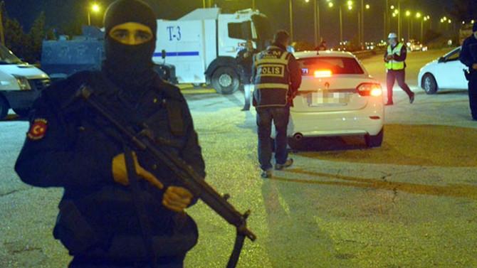 Ankara'da 2 bin 500 polisle uyuşturucu operasyonu