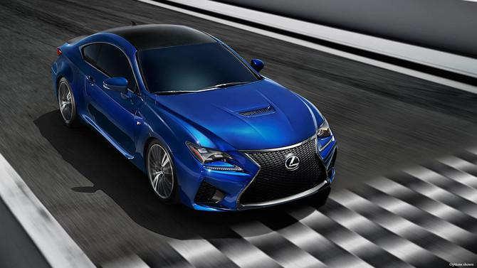 Lexus'un RC F modeli yarış otomobili oldu