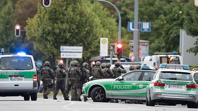 Almanya Maliye Bakanlığında şüpheli paket