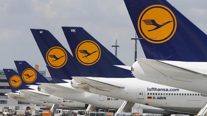 Lufthansa'nın gelirleri düştü, kârı arttı