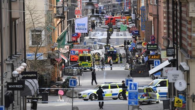 İsveç'teki saldırıyla ilgili bir Özbekistanlı gözaltında