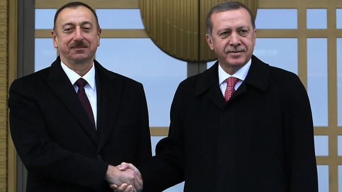 Erdoğan'a ilk tebrik Azerbaycan'dan