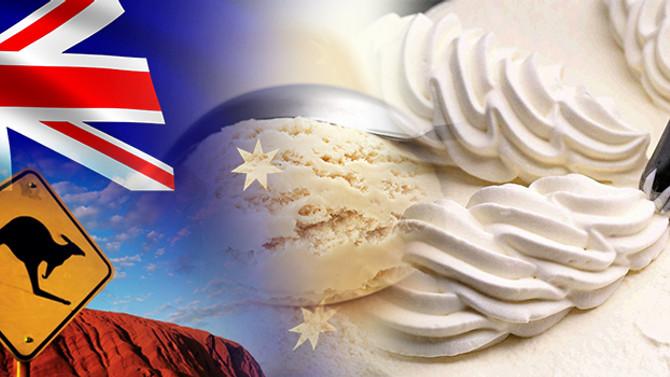 Avustralyalı müşteri dondurulmuş krema satın alacak