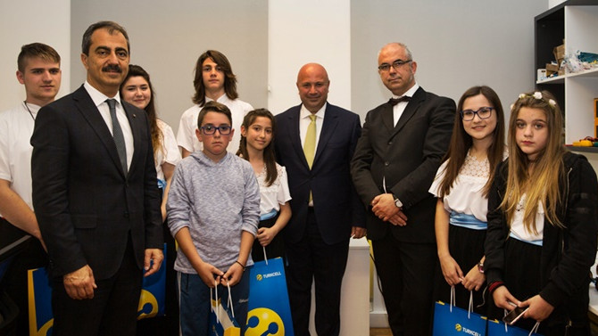 Turkcell'den Gökçeada'da eğitim desteği