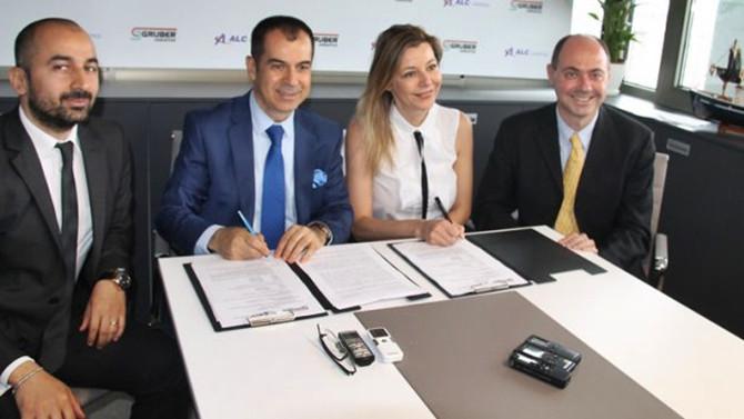 ALC Lojistik ile İtalyan Gruber'den iş birliği