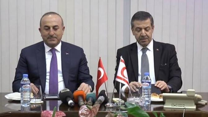 Çavuşoğlu, Özgürgün ile görüştü