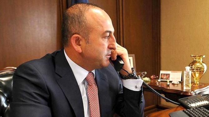 Çavuşoğlu, ABD'li mevkidaşıyla görüştü