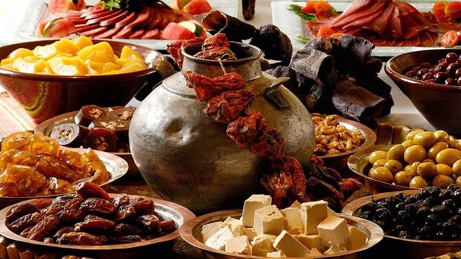Ramazan'a özel iftar sofraları (4)