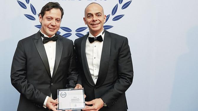 Günışığı'na, En İyi Güneş Enerjisi Proje Finansmanı ödülü