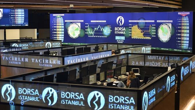 Borsa ilk yarıyı 99.189 puandan kapattı