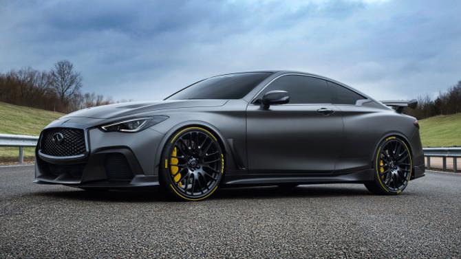Pirelli ve Infiniti, Project Black S için iş birliği yaptı