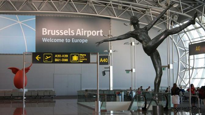 Brüksel havalimanında elektrik kesintisi rötarı