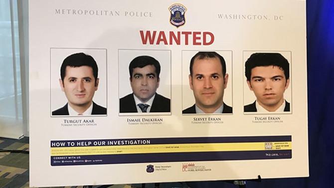 Erdoğan'ın 12 koruması için yakalama kararı